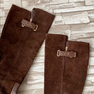 Joan & David Shoes - Joan & David Knee High Suede Leather Boots